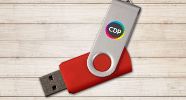 USB stick with CDP logo